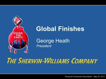 Global Finishes - Sherwin Williams