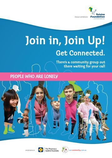 People who are lonely - Our Community