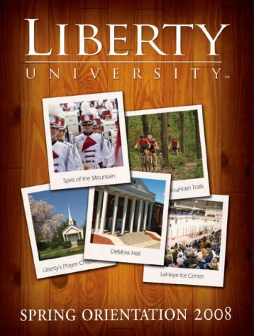 Table Of Contents - Liberty University