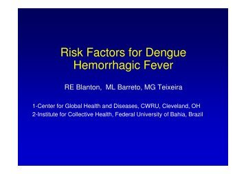 factors contributing to dengue fever essay Protect yourself from dengue fever with tips from dr chua ying ying, consultant,   however, dengue fever can turn severe, leading to dengue haemorrhagic.