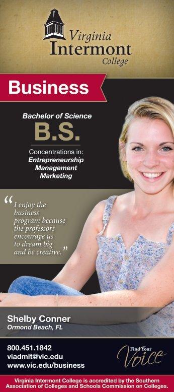 Business - Virginia Intermont College