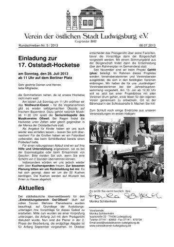 RS_2013_5 Hocketse - Oststadtverein Ludwigsburg