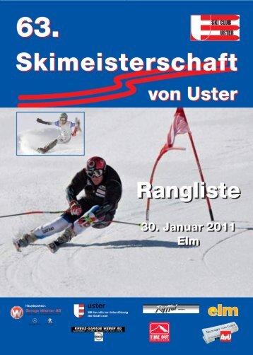 Rangliste 2011 - skimu.ch