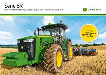 John Deere 8R Modell 2011 Prospekt - Lagerhaus