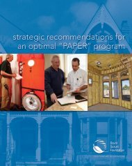 """Strategic recommendations for an optimal """"PAPER"""" program (PDF)"""