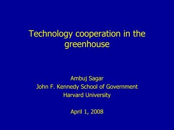 Technology cooperation in the greenhouse - L20.org