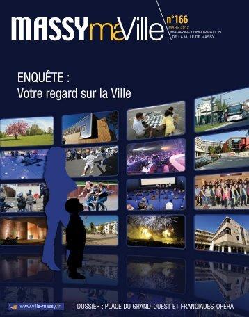 EnquêtE : Votre regard sur la Ville - Massy