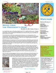 December issue - North Mississippi Gem and Mineral Society