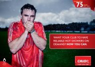 Want your club to have reliable hot shoWers on demand ... - Calor Gas