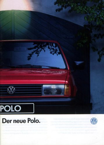 Der neue Pole. - Volkswagen Classic