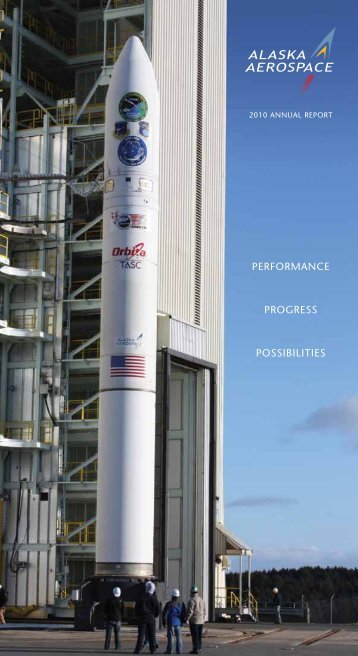 2010 Alaska Aerospace Annual Report