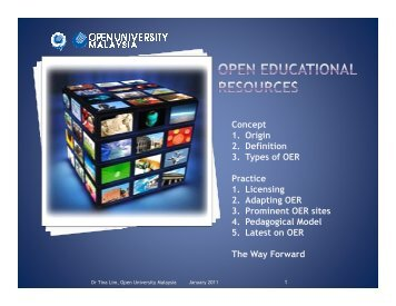 OER: Concept & Practice - Open University Malaysia