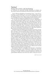 Nachruf - Zeitschrift für ausländisches öffentliches Recht und ...