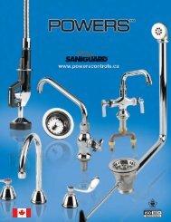 Powers SANIGUARD Catalogue - Watts Water Technologies, Inc.