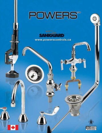 Powers SANIGUARD Catalogue - Watts Water Technologies, Inc.