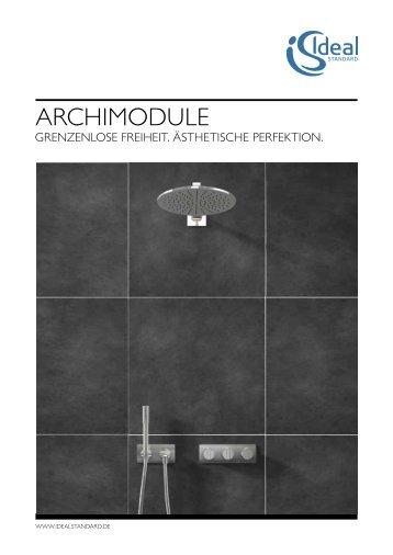 Archimodule Prospekt -  Ideal Standard