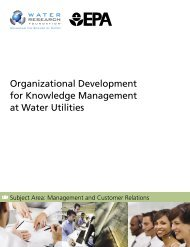 Organizational Development for Knowledge Management at Water ...