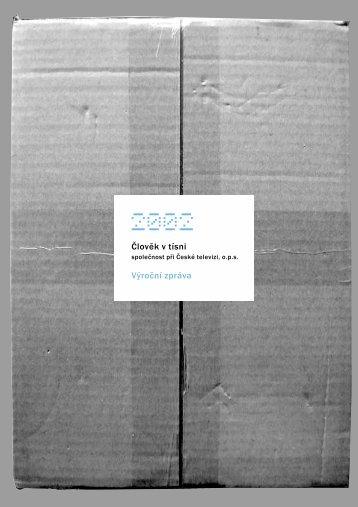 Výroční zpráva 2002 - Člověk v tísni