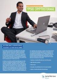 Brochure ypsID CryptoStorage - Morpho