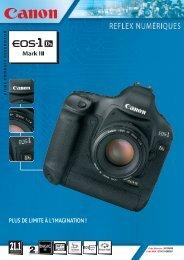 Téléchargez la fiche technique de l'EOS 1Ds ... - Focus Numérique