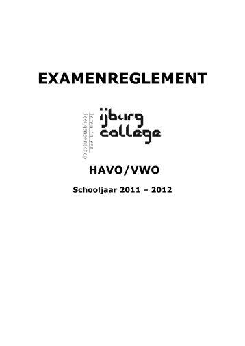 EXAMENREGLEMENT - IJburg College