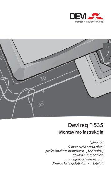 DeviregTM 535 - Danfoss