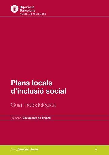 Plans locals d'inclusió social - Guia metodològica - Igualada