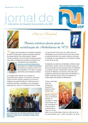 HU 60.pmd - Hospital Universitário – USP