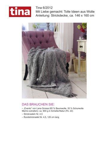 Tina 6/2012 Mit Liebe gemacht: Tolle Ideen aus Wolle Anleitung ...
