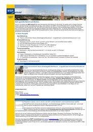 WSP aktuell, Ausgabe Juni 2011 - Wirtschaft und Stadtmarketing ...