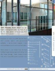 Glass Wall PDF Spec Sheet - DIRTT Environmental Solutions