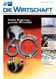 Editorial November 2009.indd - Industrie- und Handelskammer ...