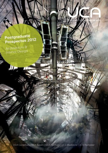 Postgraduate Prospectus 2012 - holding page - University for the ...