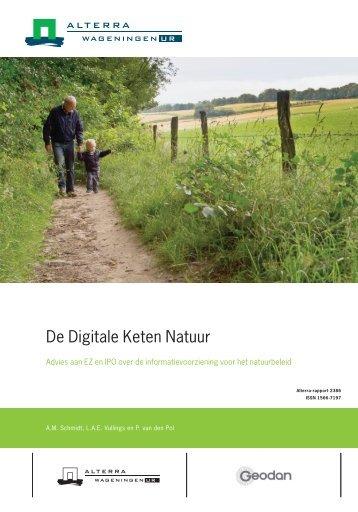 De Digitale Keten Natuur - Wageningen UR