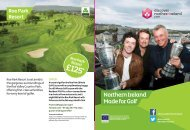 Made For Golf Z-Card - Discover Northern Ireland