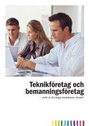 Bemanningsrapport - Teknikföretagen