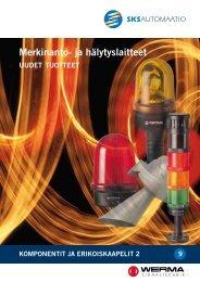 Merkinanto- ja hälytyslaitteet, UUDET TUOTTEET (pdf, 937KB) - Auser