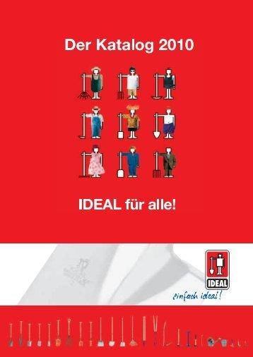 Der Katalog - IDEAL für alle! - Idealspaten