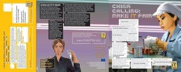 china calling: make IT fair - Sacom