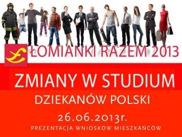Prezentacja 4 - Łomianki, Urząd Miasta i Gminy