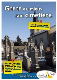 son cimetière. - Association des maires
