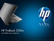 2009 NPI HP ProBook s series - Hewlett-Packard France - HP