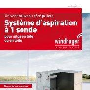 Système d'aspiration à 1 sonde - Windhager