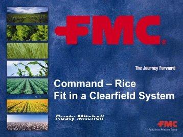 Command - Louisiana Agricultural Consultants Association ( LACA )