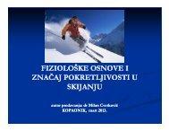 Физиолоске основе и знацај покретљивости у скијању - uiss