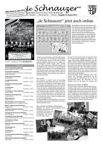 Ausgabe 16 - de-schnauzer.de