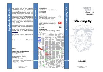 Outsourcing-Tag - ecfs