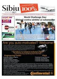 World Challenge Day: Sibienii contra sârbilor şi ... - Sibiu 100