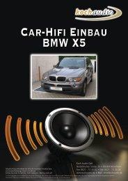 Car-Hifi Einbau BMW X5 - Mike Koch Audio