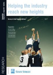 Helping the industry reach new heights - State Street